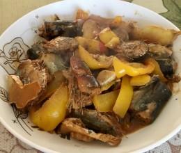 蠔油佃煮秋刀魚