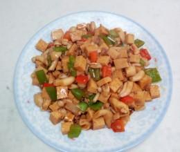 白玉菇炒芊叶豆腐