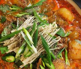 韩式炖猪颈骨