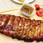 中西合璧烤猪排