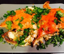咸蛋黄焗蟹