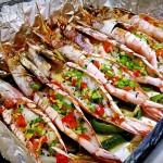 黑椒烤阿根廷红虾