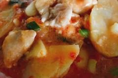 西红柿土豆鸡