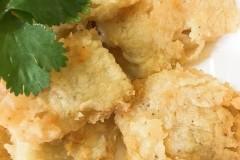 香煎阿拉斯加峡鳕鱼