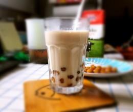 珍珠奶茶—自制珍珠豆