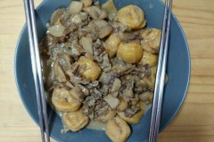 奶香羊肉片