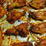 新奥尔良烤翅中、翅根