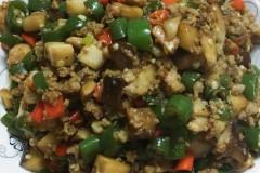 香菇肉糜小米椒