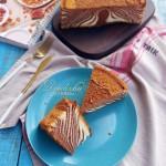 斑马纹戚风蛋糕