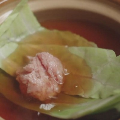 卷心菜肉丸關東煮【只要有北齋和飯.】
