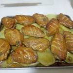 鸡翅烤土豆