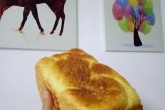 牛奶土司面包面团