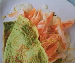 法式韭菜可丽饼 Bärlauch Crepes