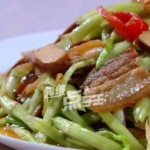 香干炒水芹菜