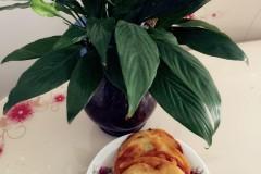 韭菜葱花酥油烙饼