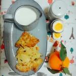 面条鸡蛋饼(早餐)