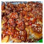 烤箱版土豆烤五花肉