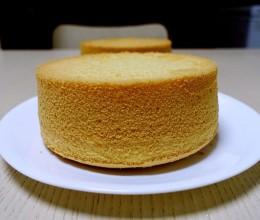 戚风蛋糕(后蛋法)