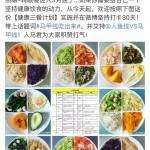 健康三餐计划减脂