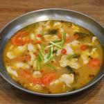 番茄酸汤鱼片