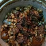 花生炖猪尾下奶菜