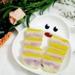 牛奶紫薯大米糕