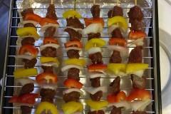 烤箱烤肉串