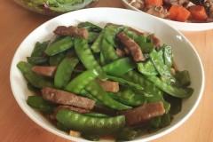 蚝油牛柳•荷兰豆炒牛肉