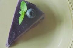 【素食绫也】蓝莓蛋糕