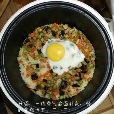 电饭锅炒饭