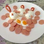 给女儿的一周早餐💓