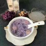 紫薯燕窝西米露