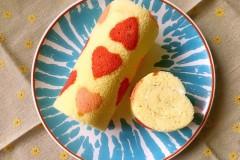心形蛋糕卷