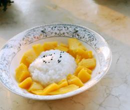 泰式芒果糯米饭--东南亚的异国美食