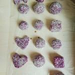 紫薯糯米团子