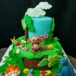 翻糖恐龙蛋糕