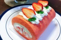粉红草莓🍓卷