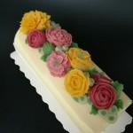 豆沙裱花蛋糕卷