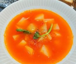 超赞的番茄土豆浓汤