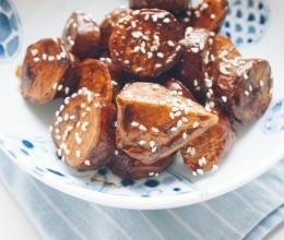 【山姆厨房】日式黑糖红薯(大学芋)
