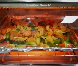 烤什锦蔬菜