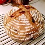 免揉果干面包