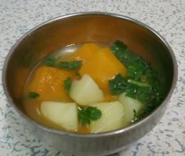 南瓜土豆浓汤