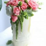 透明奶油霜裱花(月季)