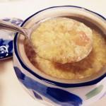 全麦蛋花甜汤