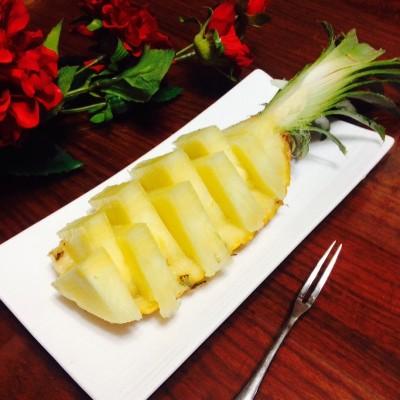 切菠萝的正确姿势