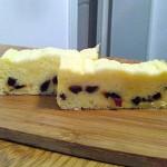 蔓越莓酸奶蒸蛋糕