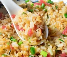 泡菜萝卜炒米饭