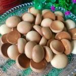 蛋黄奶豆饼干