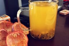 办公室自制百香果汁